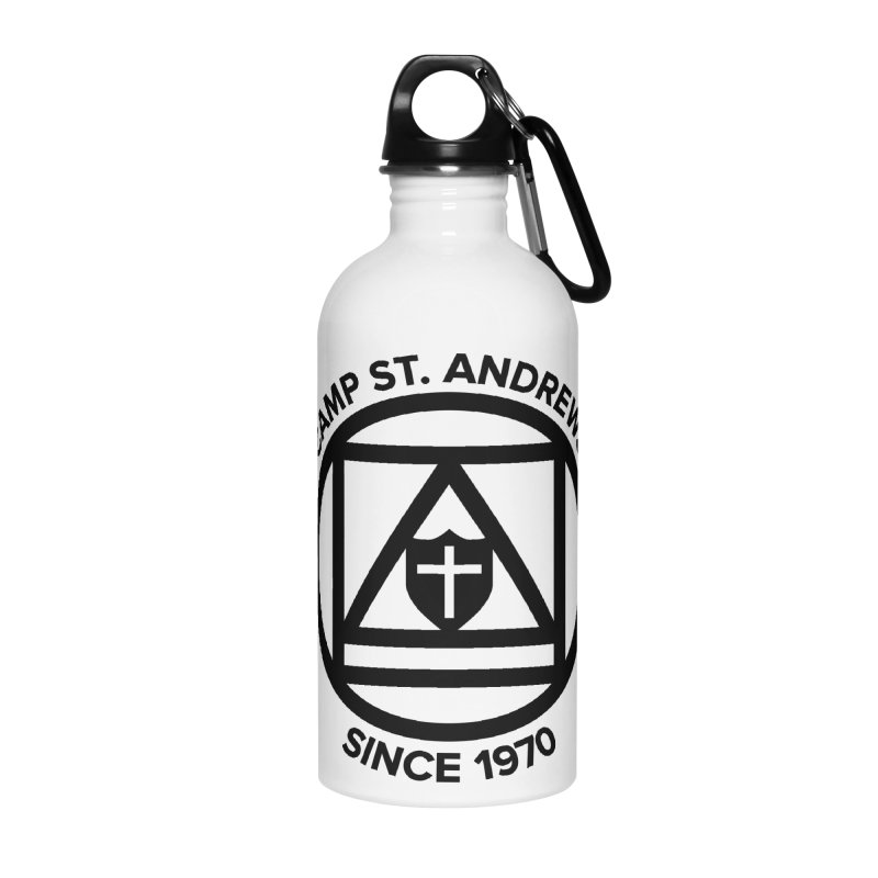 CSA Scarf Symbol Accessories Water Bottle by Camp St. Andrews