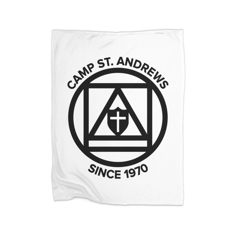 CSA Scarf Symbol Home Blanket by Camp St. Andrews