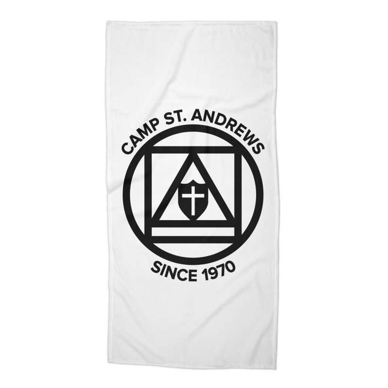 CSA Scarf Symbol Accessories Beach Towel by Camp St. Andrews