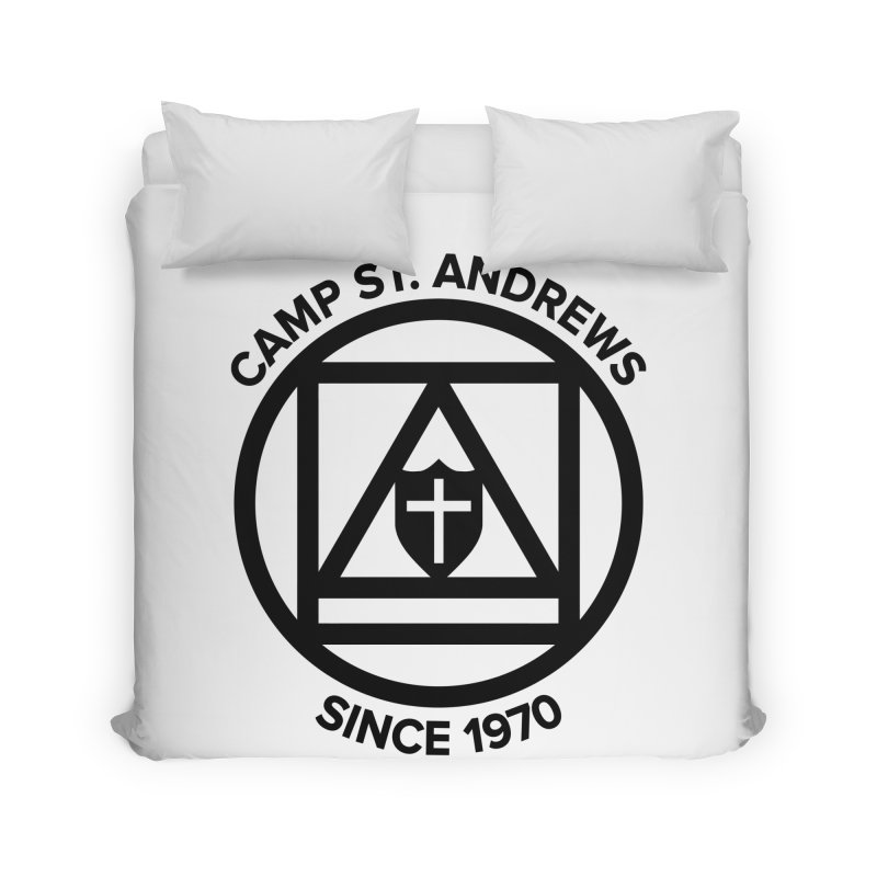 CSA Scarf Symbol Home Duvet by Camp St. Andrews
