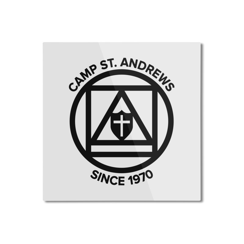 CSA Scarf Symbol Home Mounted Aluminum Print by Camp St. Andrews