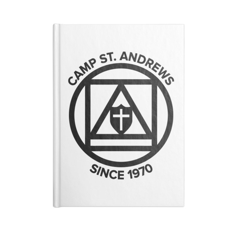 CSA Scarf Symbol Accessories Blank Journal Notebook by Camp St. Andrews