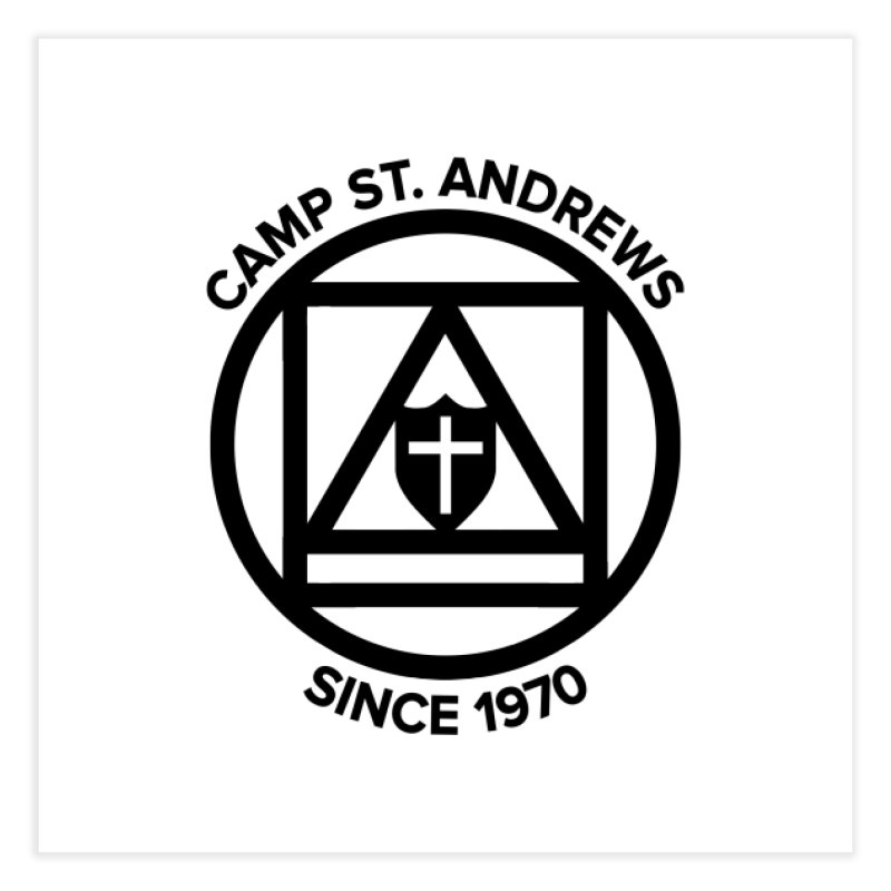 CSA Scarf Symbol Home Fine Art Print by Camp St. Andrews