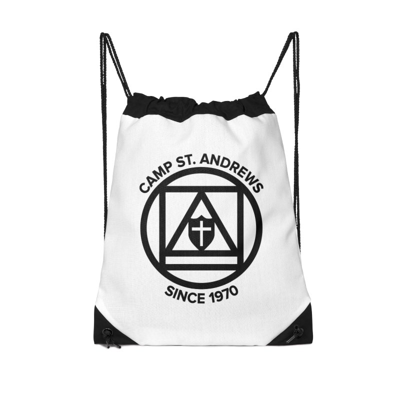 CSA Scarf Symbol Accessories Drawstring Bag Bag by Camp St. Andrews