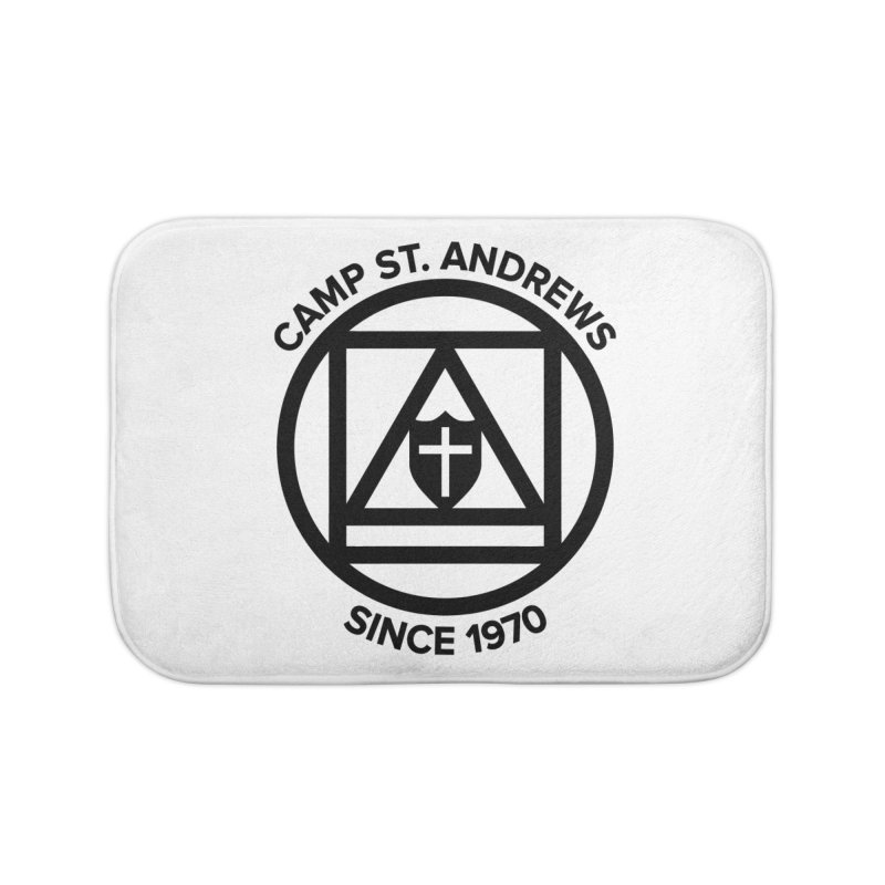 CSA Scarf Symbol Home Bath Mat by Camp St. Andrews