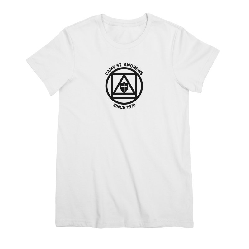 CSA Scarf Symbol Women's Premium T-Shirt by Camp St. Andrews