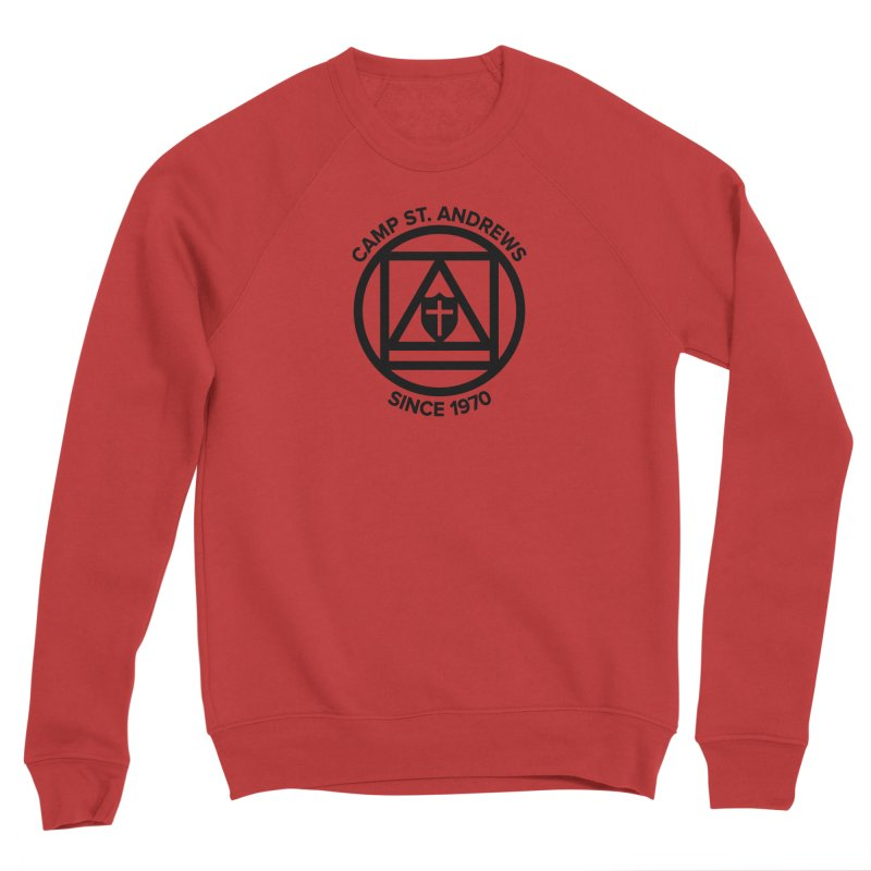 CSA Scarf Symbol Women's Sponge Fleece Sweatshirt by Camp St. Andrews