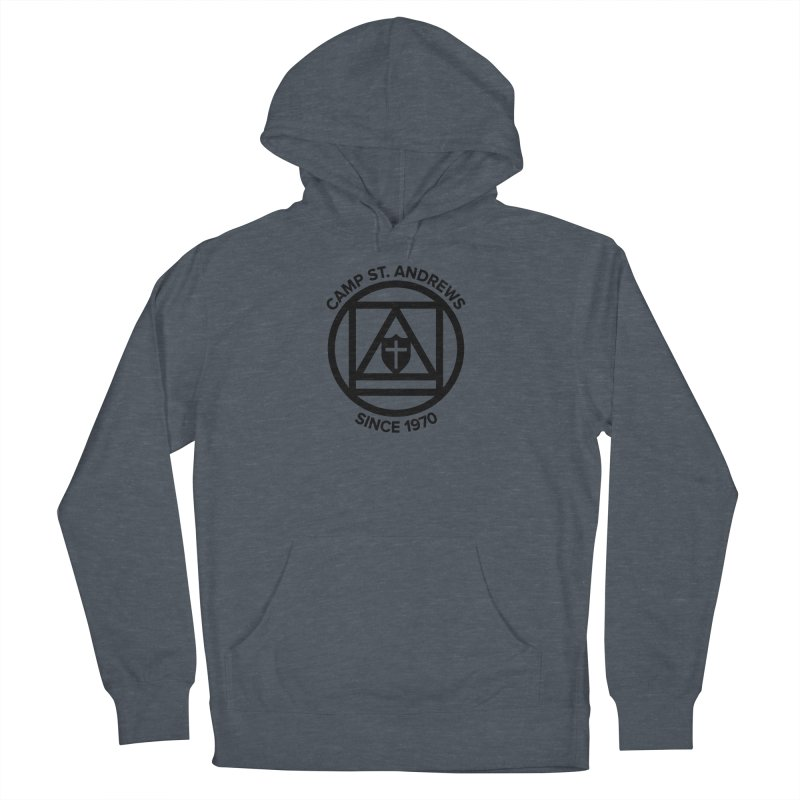 CSA Scarf Symbol Women's French Terry Pullover Hoody by Camp St. Andrews