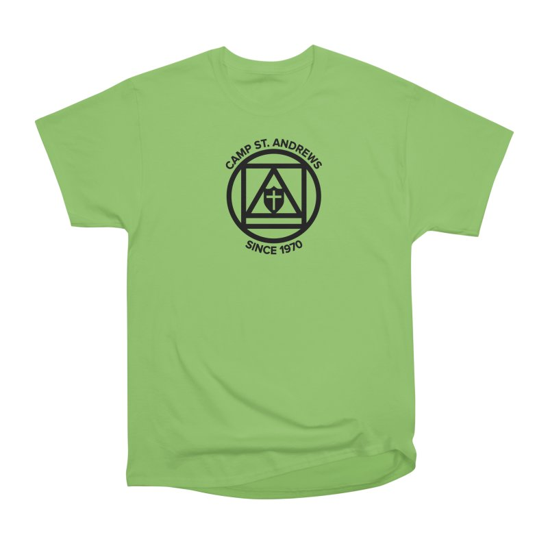 CSA Scarf Symbol Women's Heavyweight Unisex T-Shirt by Camp St. Andrews