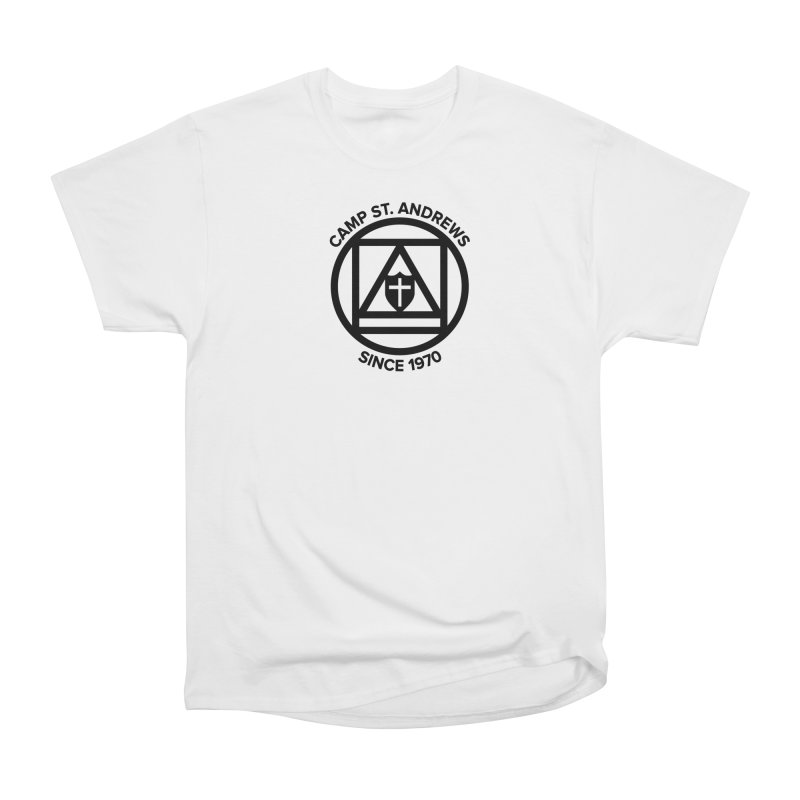 CSA Scarf Symbol Women's Heavyweight Unisex T-Shirt by Camp St. Andrews
