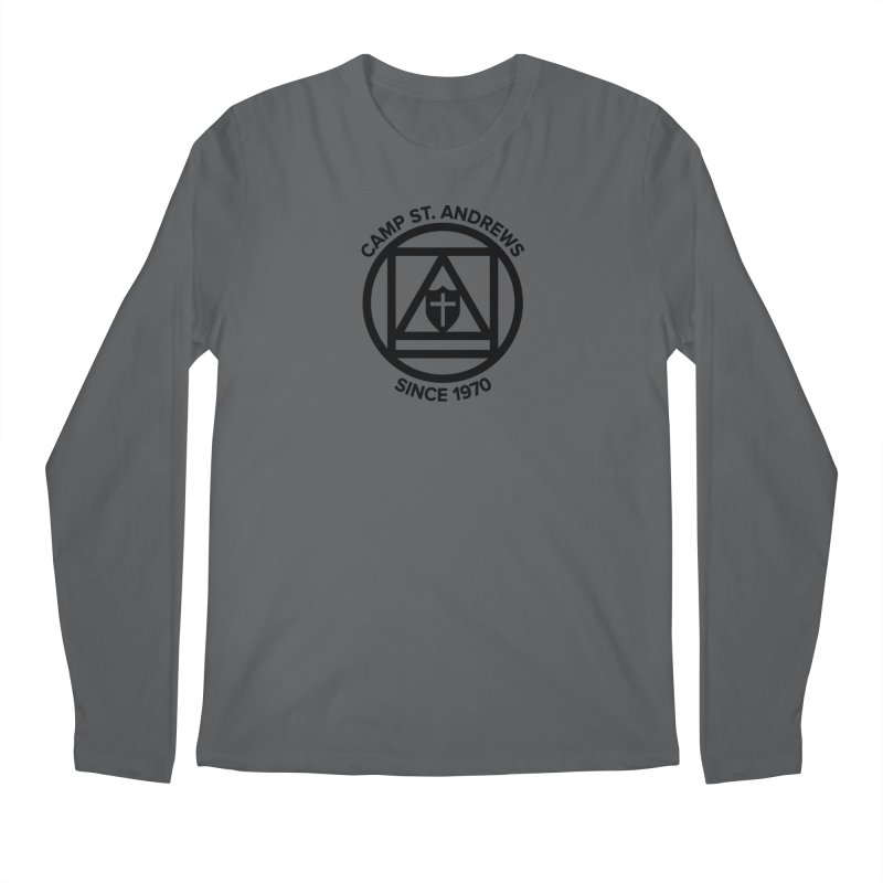 CSA Scarf Symbol Men's Longsleeve T-Shirt by Camp St. Andrews