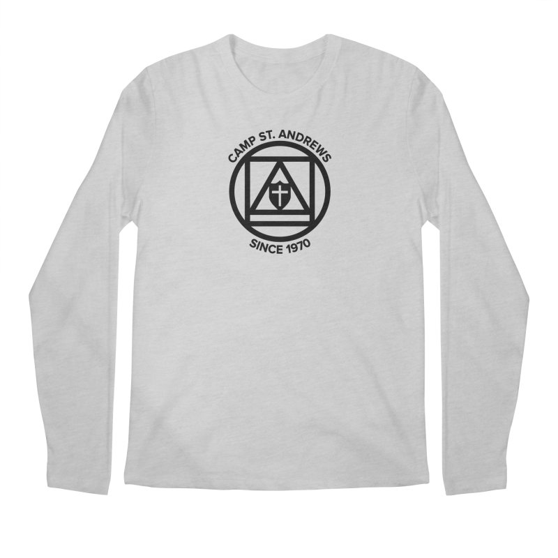 CSA Scarf Symbol Men's Regular Longsleeve T-Shirt by Camp St. Andrews