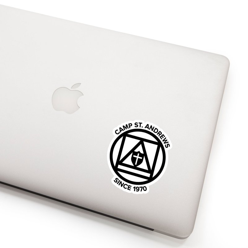 CSA Scarf Symbol Accessories Sticker by Camp St. Andrews