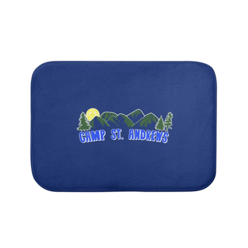 CSA Mountains Color Home Bath Mat by Camp St. Andrews