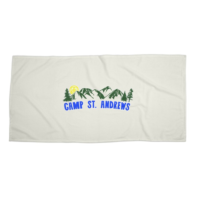 CSA Mountains Color Accessories Beach Towel by Camp St. Andrews