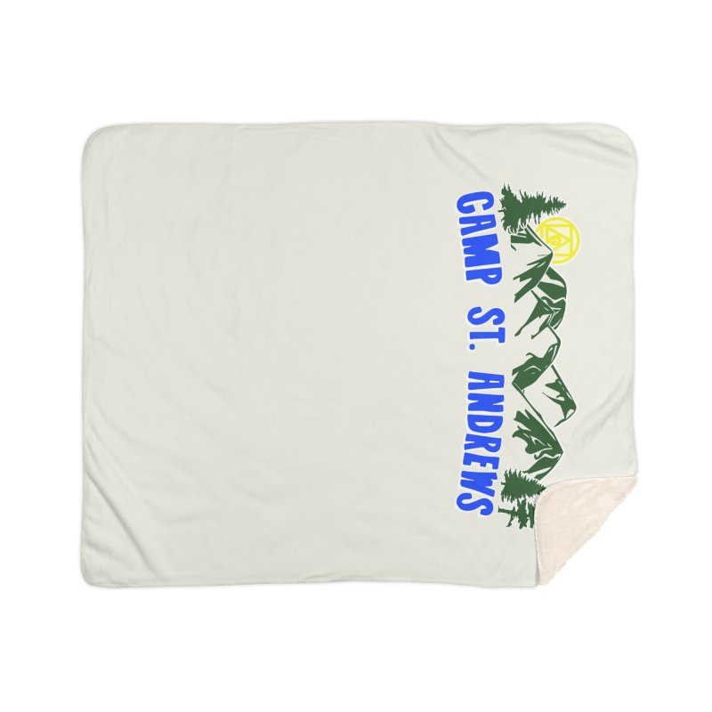 CSA Mountains Color Home Sherpa Blanket Blanket by Camp St. Andrews