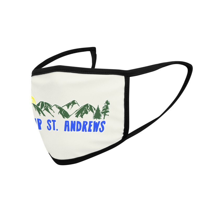 CSA Mountains Color Accessories Face Mask by Camp St. Andrews