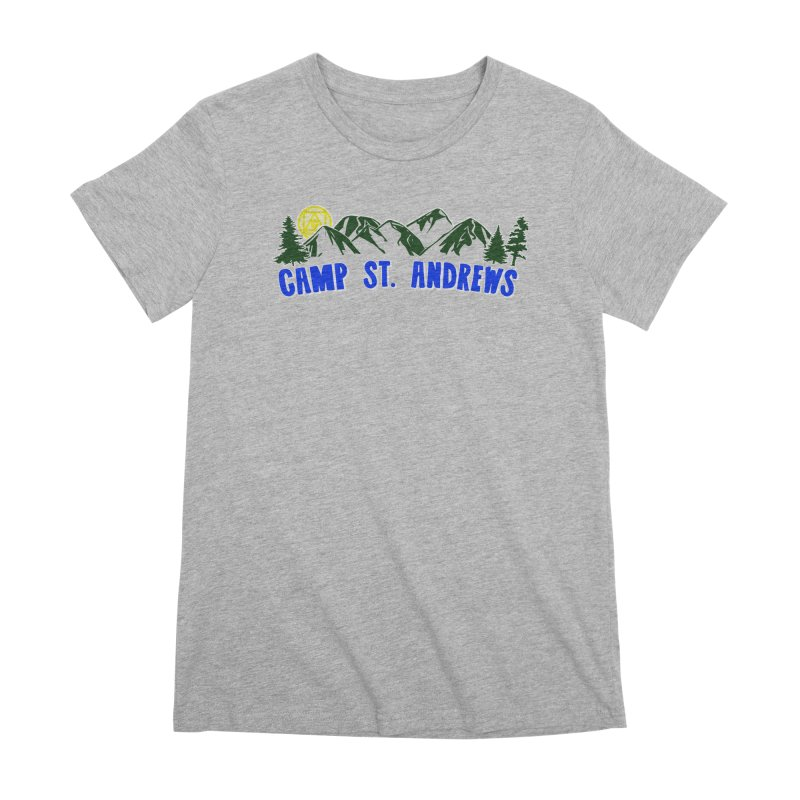 CSA Mountains Color Women's Premium T-Shirt by Camp St. Andrews