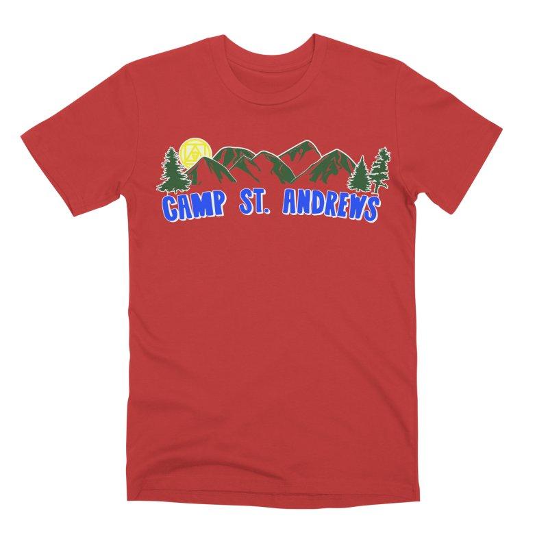 CSA Mountains Color Men's Premium T-Shirt by Camp St. Andrews