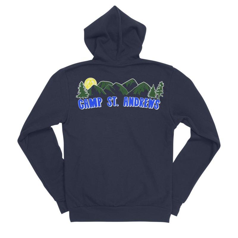 CSA Mountains Color Men's Sponge Fleece Zip-Up Hoody by Camp St. Andrews