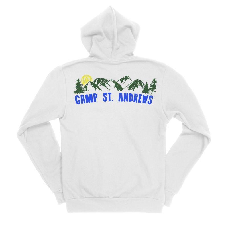 CSA Mountains Color Women's Sponge Fleece Zip-Up Hoody by Camp St. Andrews