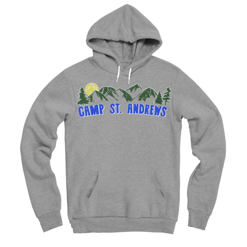 CSA Mountains Color Women's Sponge Fleece Pullover Hoody by Camp St. Andrews