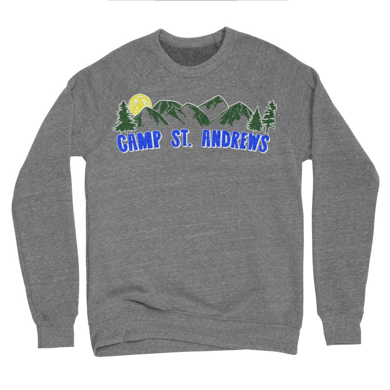 CSA Mountains Color Men's Sponge Fleece Sweatshirt by Camp St. Andrews