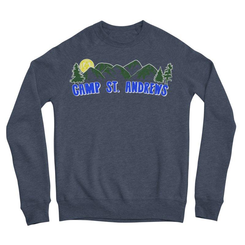 CSA Mountains Color Men's Sponge Fleece Sweatshirt by Camp St. Andrews
