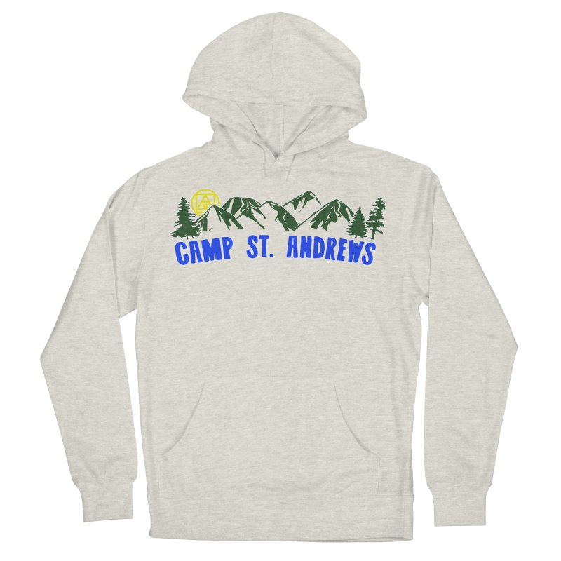 CSA Mountains Color Women's French Terry Pullover Hoody by Camp St. Andrews