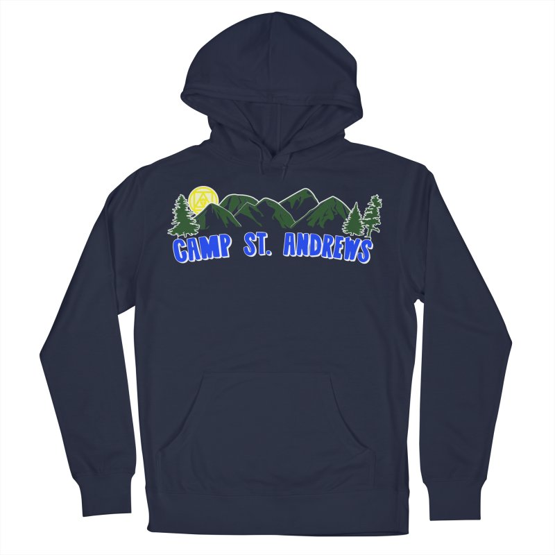 CSA Mountains Color Men's French Terry Pullover Hoody by Camp St. Andrews