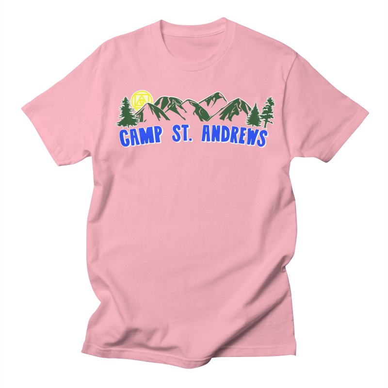 CSA Mountains Color Men's Regular T-Shirt by Camp St. Andrews