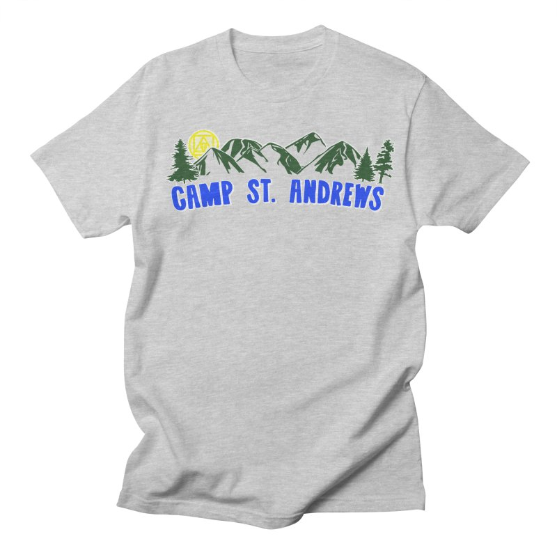 CSA Mountains Color Women's Regular Unisex T-Shirt by Camp St. Andrews