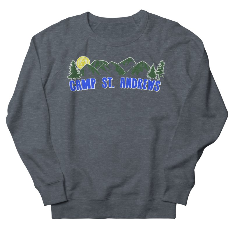 CSA Mountains Color Men's French Terry Sweatshirt by Camp St. Andrews