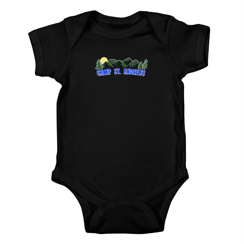 CSA Mountains Color Kids Baby Bodysuit by Camp St. Andrews