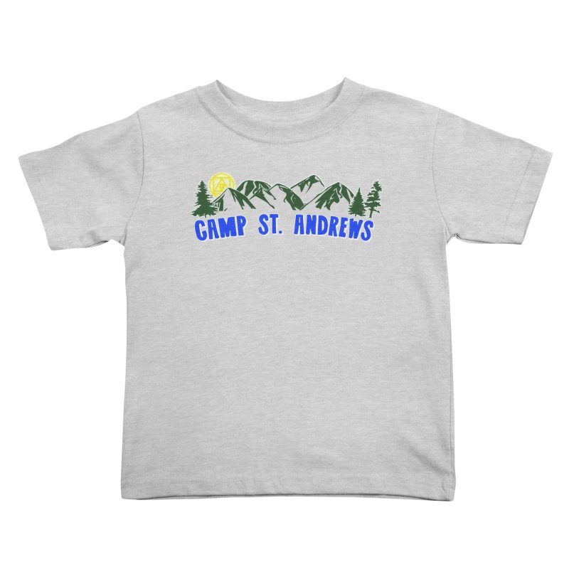 CSA Mountains Color Kids Toddler T-Shirt by Camp St. Andrews