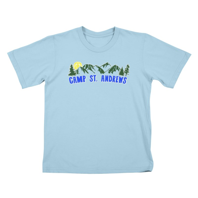 CSA Mountains Color Kids T-Shirt by Camp St. Andrews