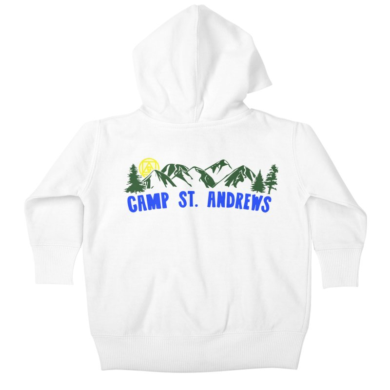 CSA Mountains Color Kids Baby Zip-Up Hoody by Camp St. Andrews