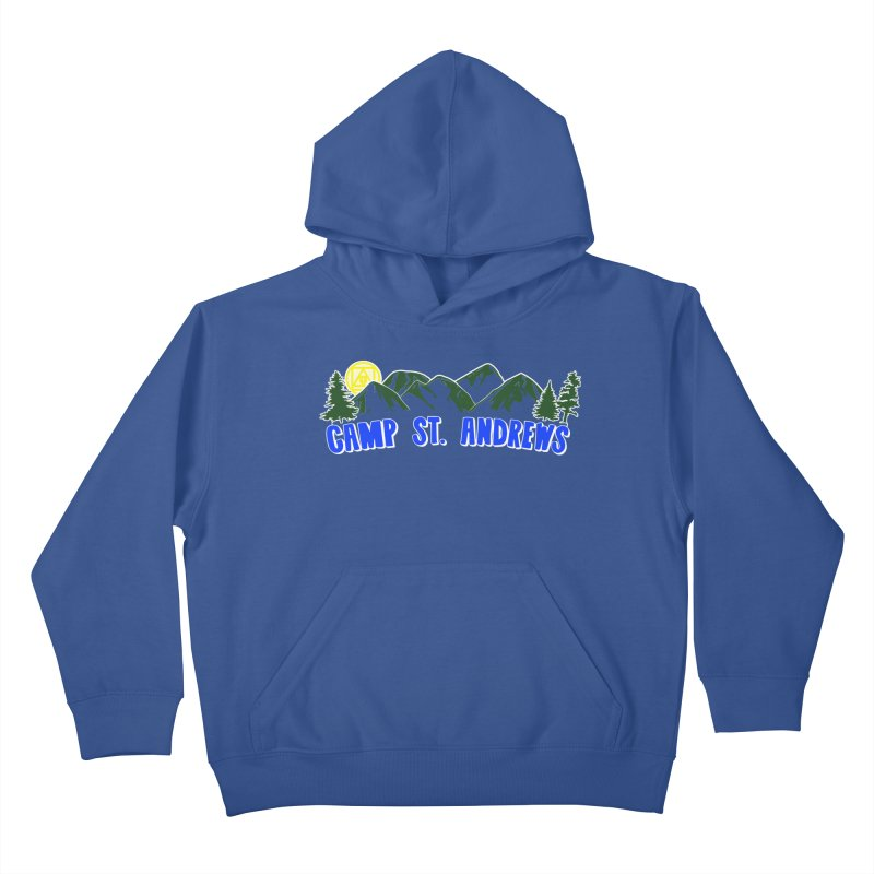 CSA Mountains Color Kids Pullover Hoody by Camp St. Andrews