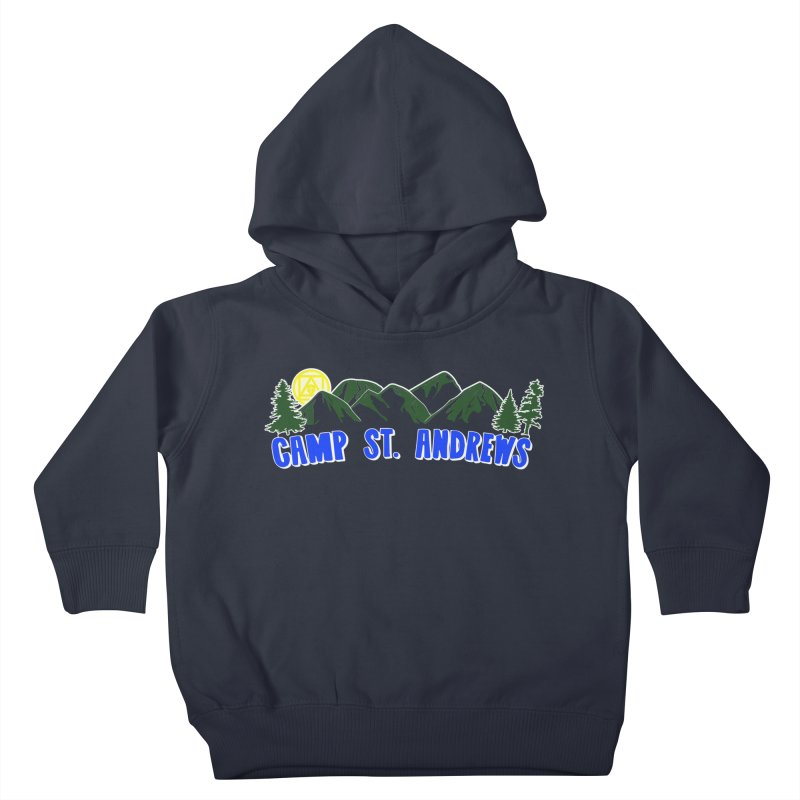 CSA Mountains Color Kids Toddler Pullover Hoody by Camp St. Andrews