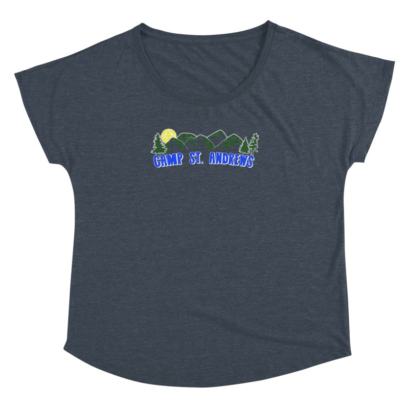 CSA Mountains Color Women's Dolman Scoop Neck by Camp St. Andrews