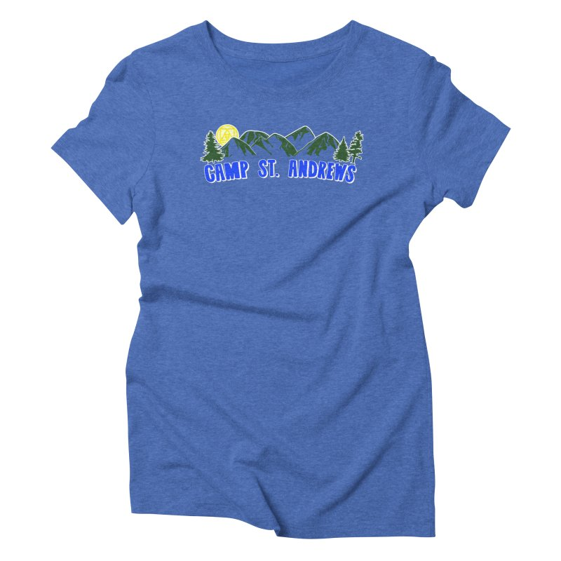 CSA Mountains Color Women's Triblend T-Shirt by Camp St. Andrews