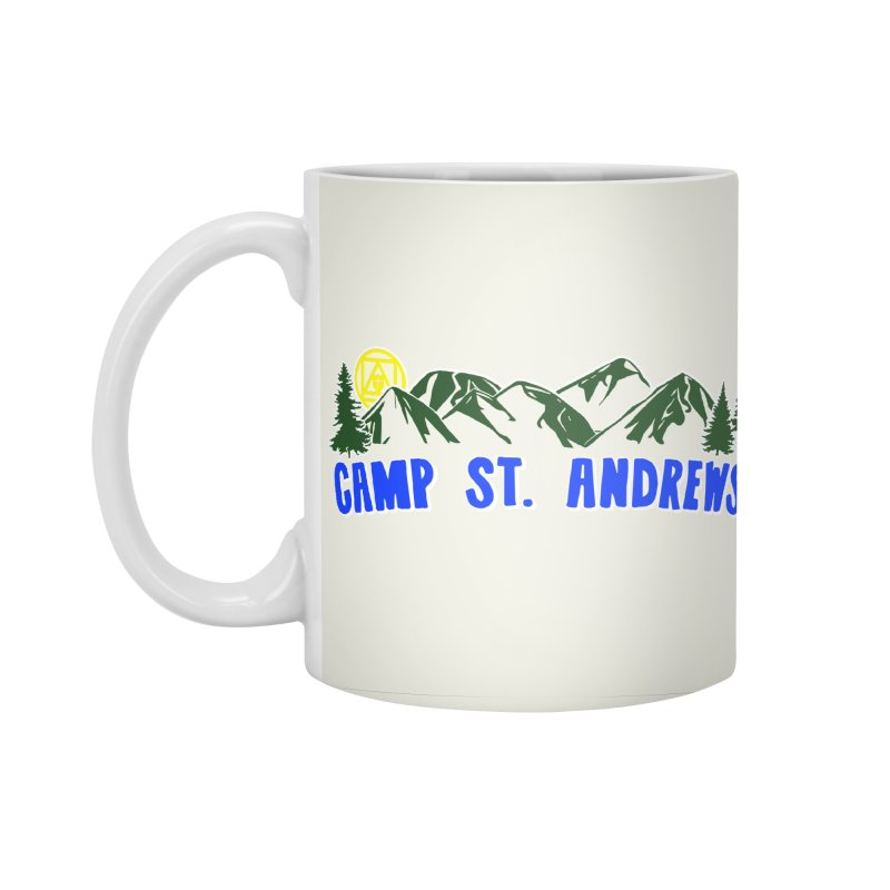 CSA Mountains Color Accessories Standard Mug by Camp St. Andrews