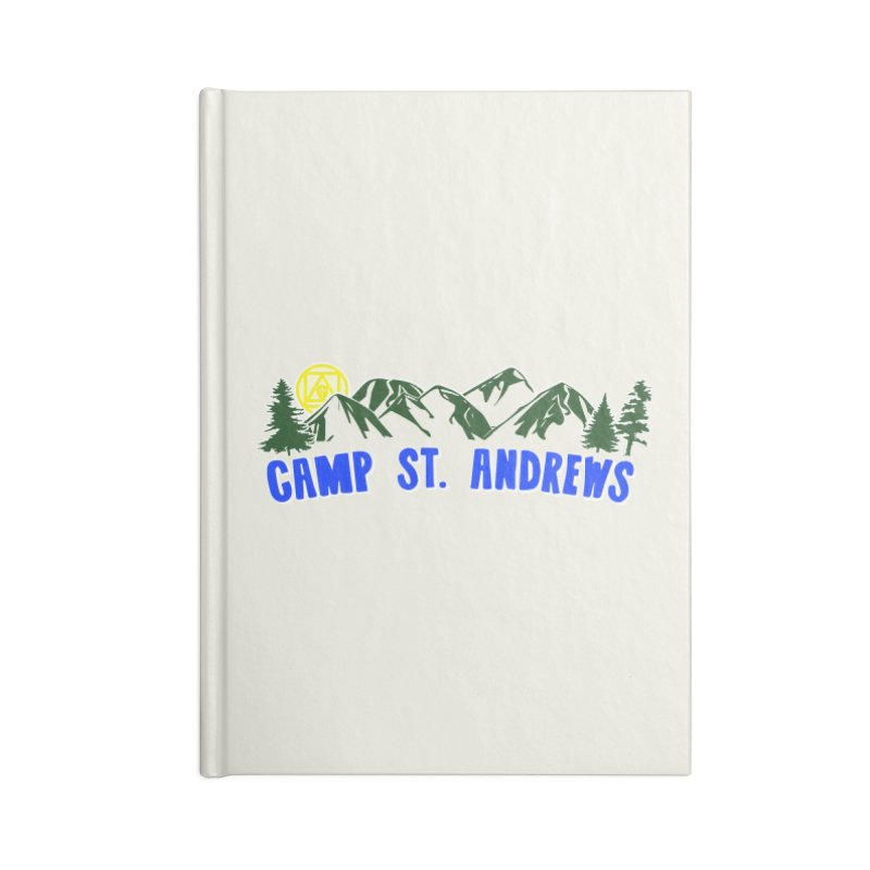 CSA Mountains Color Accessories Blank Journal Notebook by Camp St. Andrews