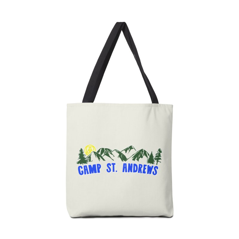 CSA Mountains Color Accessories Tote Bag Bag by Camp St. Andrews
