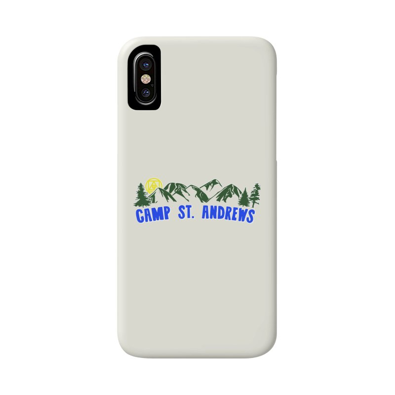 CSA Mountains Color Accessories Phone Case by Camp St. Andrews