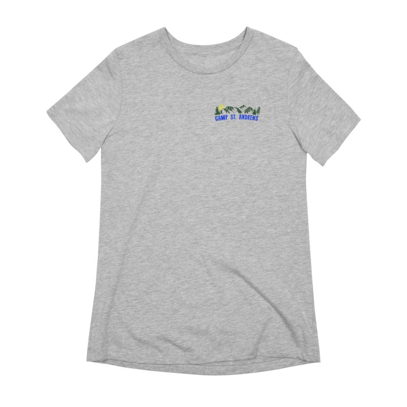 CSA Mountains Color Women's Extra Soft T-Shirt by Camp St. Andrews