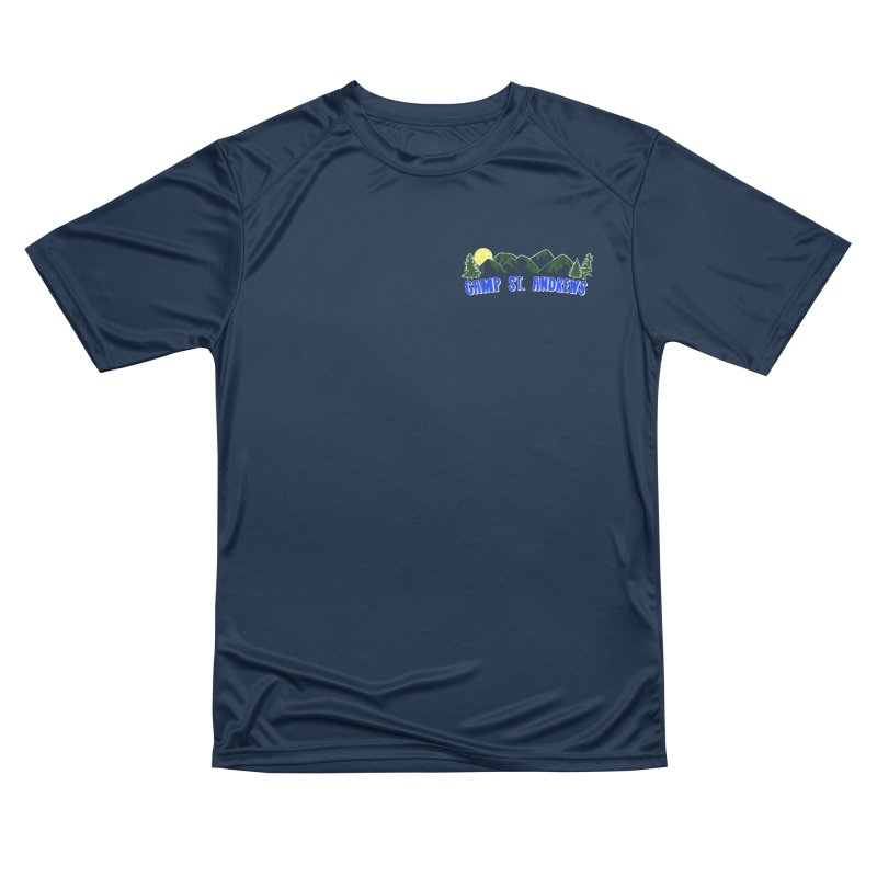 CSA Mountains Color Men's Performance T-Shirt by Camp St. Andrews