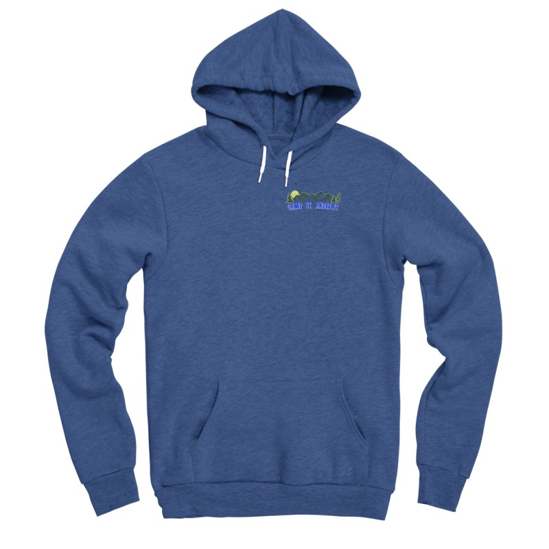 CSA Mountains Color Men's Sponge Fleece Pullover Hoody by Camp St. Andrews