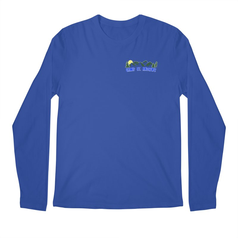 CSA Mountains Color Men's Regular Longsleeve T-Shirt by Camp St. Andrews