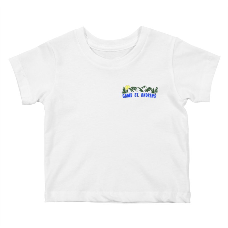 CSA Mountains Color Kids Baby T-Shirt by Camp St. Andrews